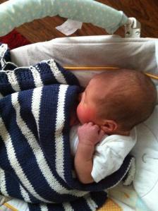 Chalie baby blanket