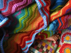 Ripple blanket  by Attic24
