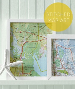 Stitched Map Artblog.wantlist.com