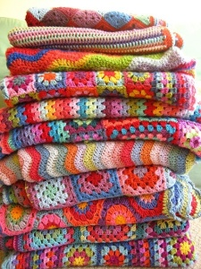 Stack of blankets from Tipjunkie.com