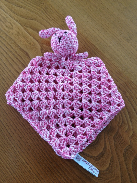 Crochet Knit Stitch : Crochet Bunny Comforter Knit Stitch Sew