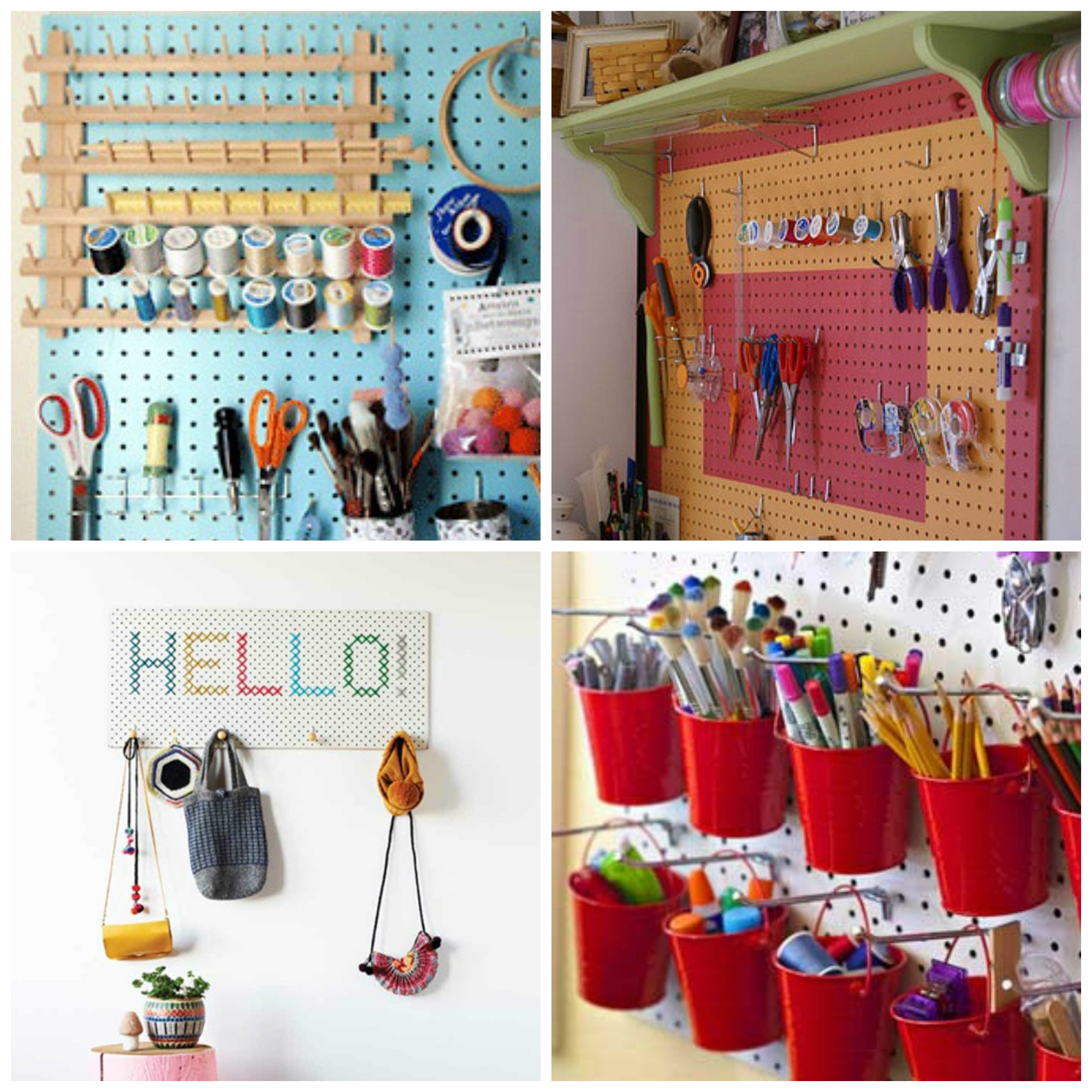 Craft Room Pegboard Ideas 2000 x 2000