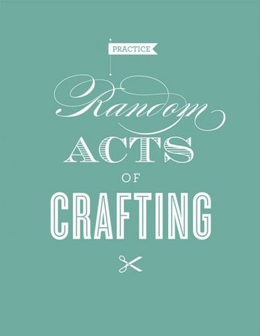 random acts of craft pic